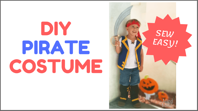 Diy Jake And The Neverland Pirates Costume Mind Over Messy