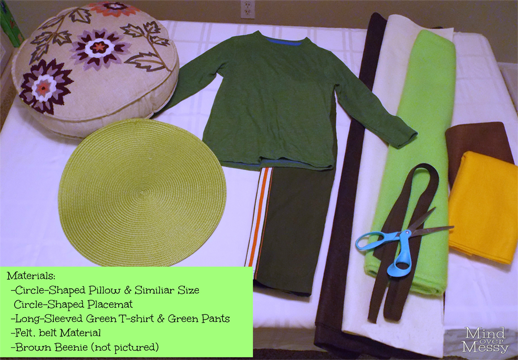 Diy turtle costume tutorial mind over messy materials solutioingenieria Gallery
