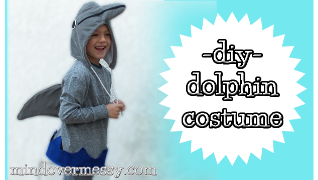 Diy dolphin costume mind over messy diy dolphin costume solutioingenieria Choice Image