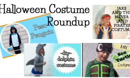 Costume Roundup – Peso Penguin, Dolphin, Sea Turtle and a Pirate